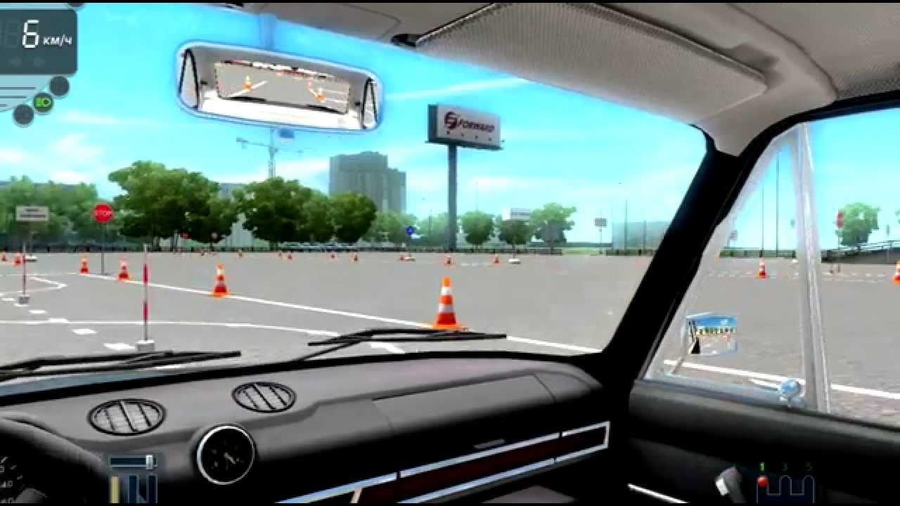 Скачать симулятор вождения на автодроме