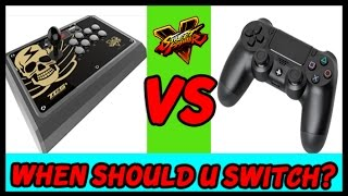 Arcade Stick VS Pad - When Should You Switch?