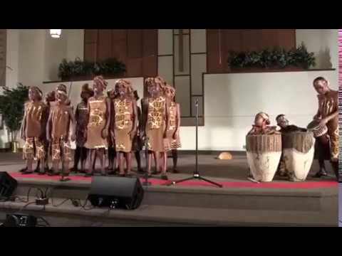 The African Children's Choir from Uganda-Live From Piqua Bap