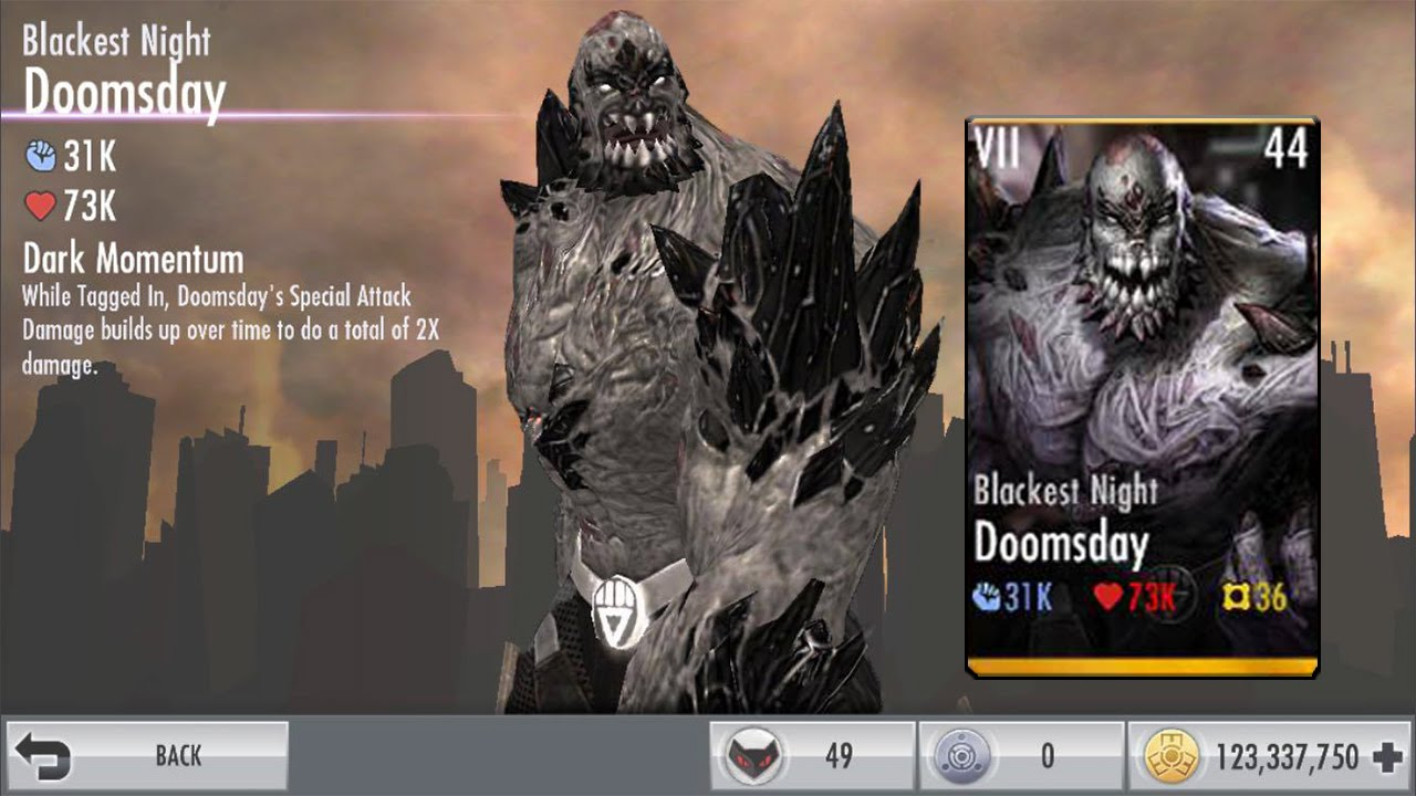 Injustice iOS   Blackest Night Doomsday Review! - YouTube