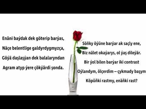 Kerim Gurbannepesow -Ýazmasy Has Agyr Düşen Goşgy