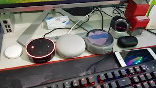 Chất âm của loa thông minh Echo Dot 2, echo dot 3, google home mini