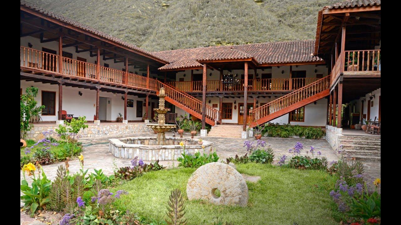 Casa hacienda achamaqui chachapoyas per youtube for Piani casa hacienda