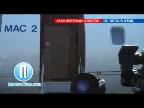 Jean Bertrand Aristide De Retour D'Exil Part1