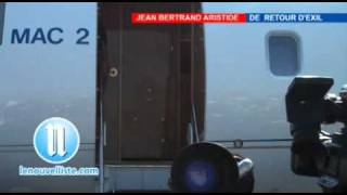 Gambar cover Jean Bertrand Aristide de retour d'Exil part1