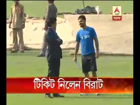 Virat Kohli meets with Sourav for getting tickets