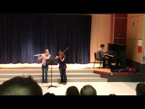 Imagine performed by Diego (piano), Sydney (viola) and Melina (flute)