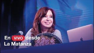 En vivo presentamos Sinceramente en La Matanza.
