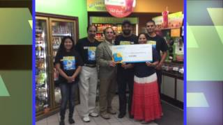 One lucky ticket sold in southern california hit the jackpot. check your tickets to see if you are winner. lottery's donna cordova describes t...