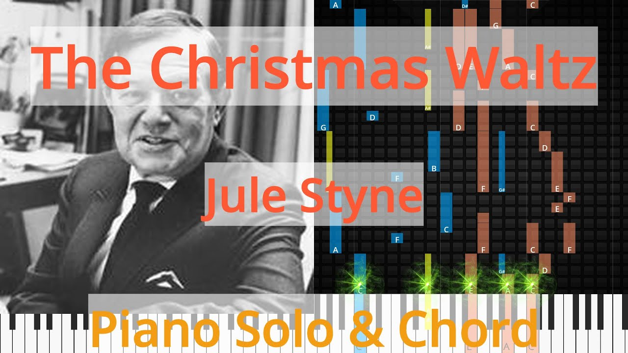 Christmas Waltz Chords.Solo Chord The Christmas Waltz Jule Styne Synthesia Piano