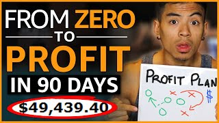 Amazon FBA 3 Month Game-Plan To PROFIT | Step-By-Step Timeline