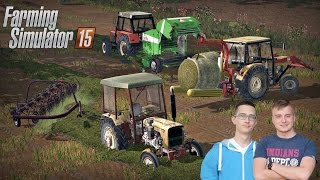 Polska Wieś na Boluśowo v7 - Owies na kiszonke! ㋡ Farming Simulator 15 #7 ☆ Bronczek