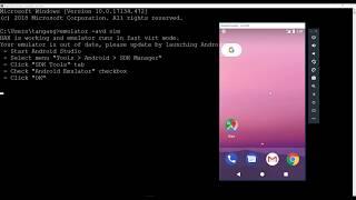2. Create Android Emulators through Command Line || Flutter App