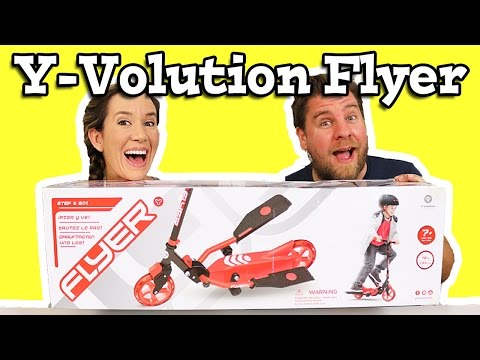Y Volution Y Flyer Step And Go Scooter