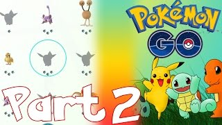 HOW TO TRACK POKEMON AND HOW TO THROW POKEBALL IN POKEMON GO | LET'S PLAY POKEMON GO PART 2