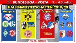 FIFA 20: Hallenmeisterschaften l Spieltag 3 & 4 - Bundesliga Volta l Deutsch [FULL HD]