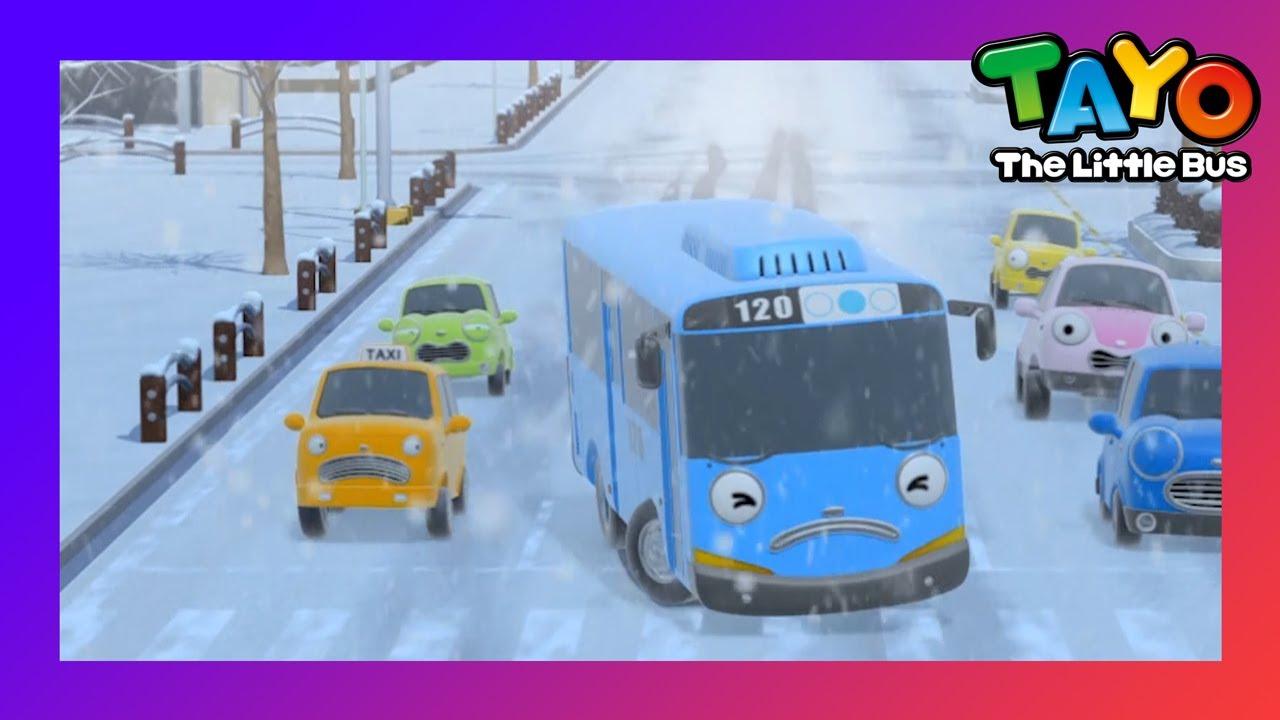 Tayo Phần đặc biệt l #111 Không còn tuyết! Nó trơn! l Phim hoạt hình cho trẻ em