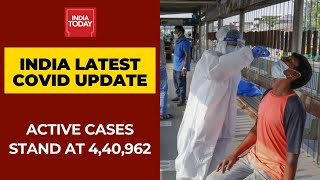 India's Covid-19 Update: Total Active Cases Stand At 4,40,962 And Deaths At 1,33,227