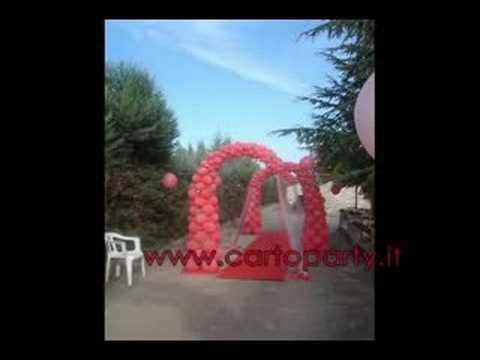 Decorazioni Sala Laurea : Allestimento per laurea youtube
