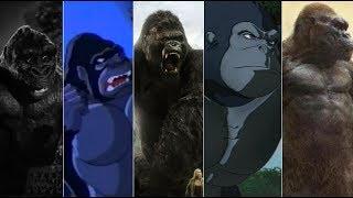 Эволюция Кинг-Конга в мультфильмах и кино