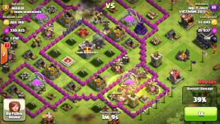 Clash of Clans - First Battle with sound