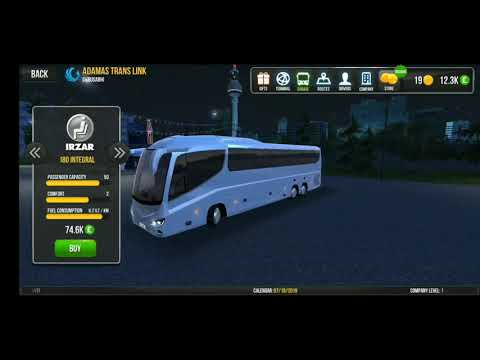 Bus Simulator Ulitmate|Gameplay-Introduction to the Bus's Available for Purchase |