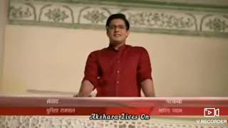 Akshara Naira dance on tera saaya banke jalna h mughe