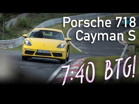 7:40 | Porsche 718 Cayman S | Nordschleife BTG | 29.09.2017