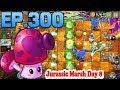 Plants vs. Zombies 2    Got a new Plant Perfume-shroom - Jurassic Marsh Day 8 (Ep.300)