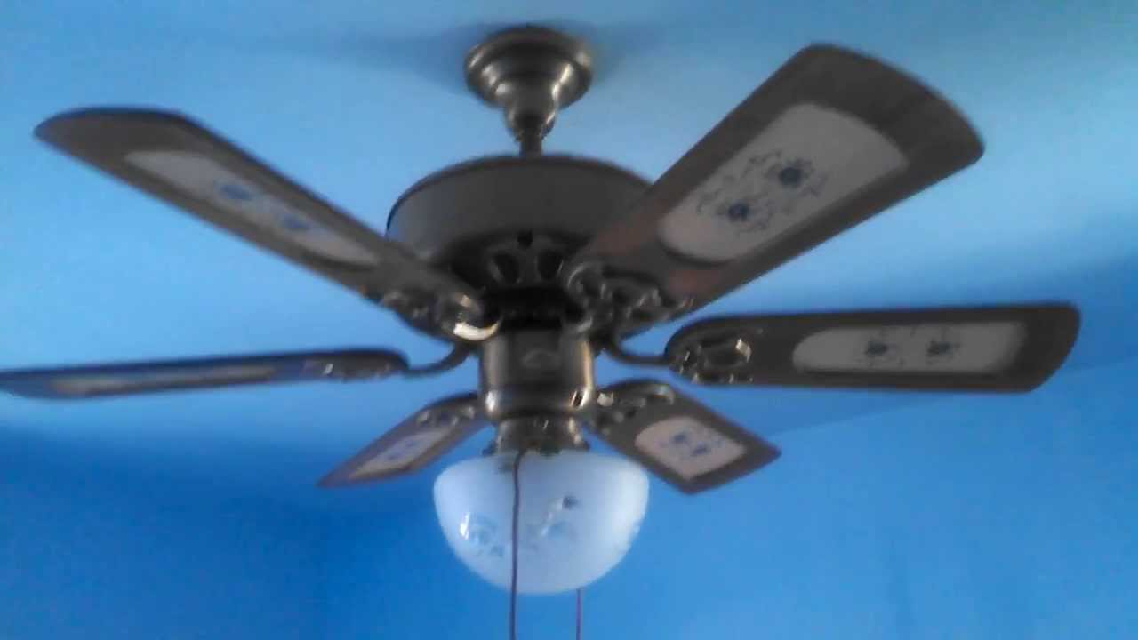 Quoizel floral six blade ceiling fan youtube aloadofball Choice Image
