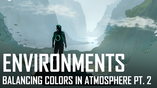 Critique Hour! Environments--Balancing colors in atmosphere. Pt. 2