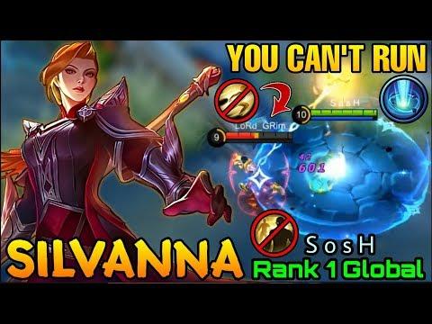 Silvana Hallowed Lance MVP Plays - Top 1 Global Silvana S O S H - Mobile Legends