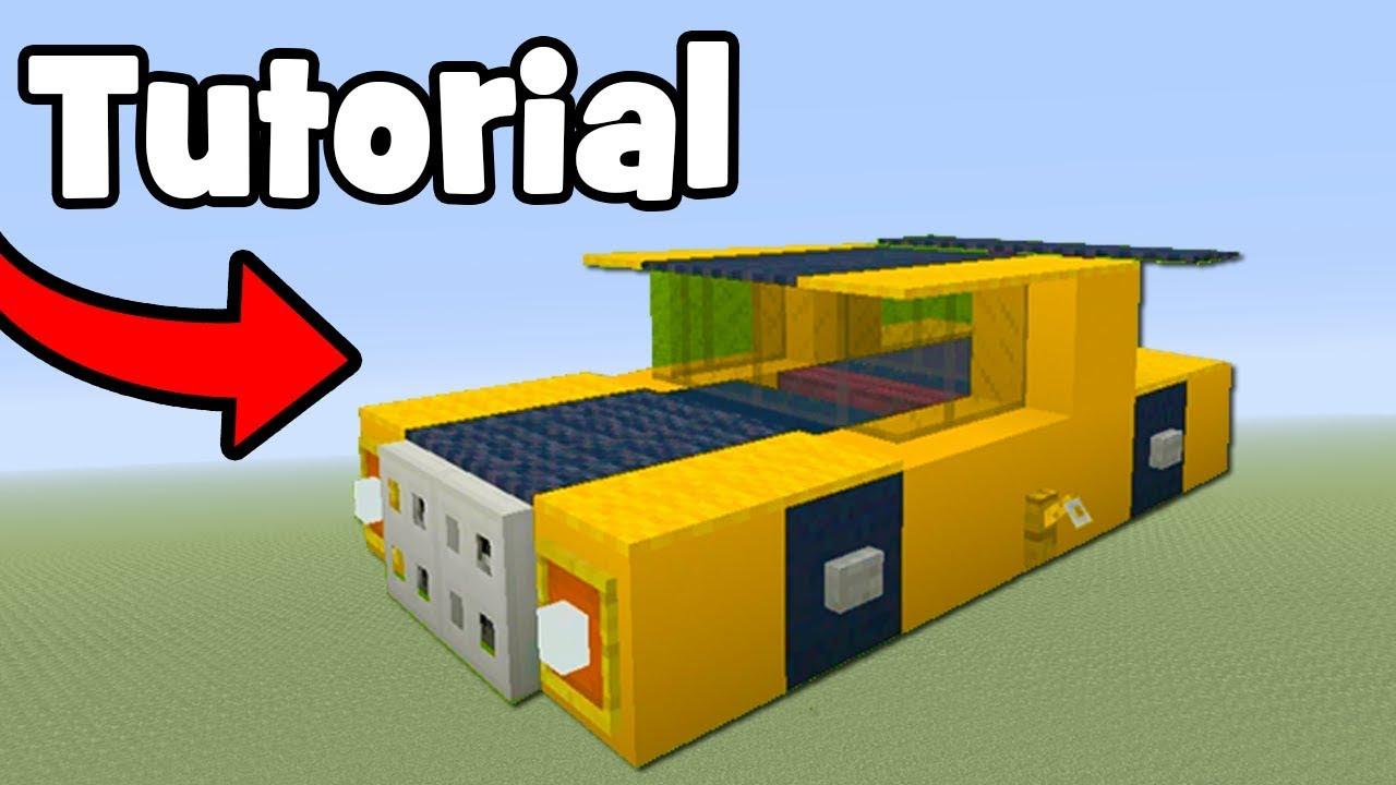 Minecraft Tutorial: How To Make Bumblebee (Car) Bumblebee