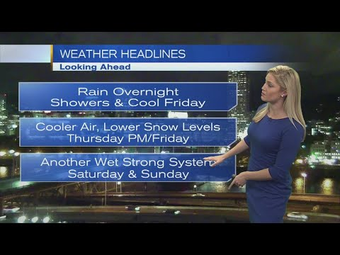 11pm Thursday Evening Forecast KOIN 6 News October 19, 2017