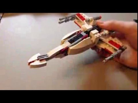 2016 Mini Lego X Wing Snow Speeder And B Wing 2016 Customs Youtube