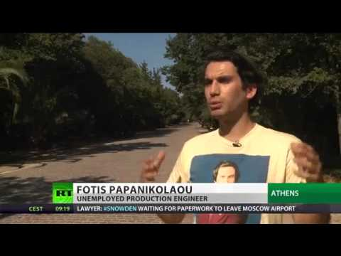 GOODBYE GREECE--Emergency Exit  Greeks flee country as govt resorts to mass layoffs .mp4