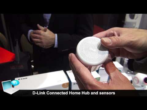 D-Link Connected Home Hub and sensors