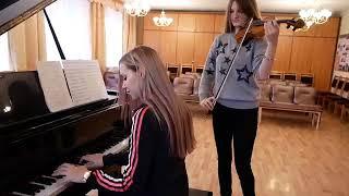 Сектор Газа Пора домой на скрипке и пианино