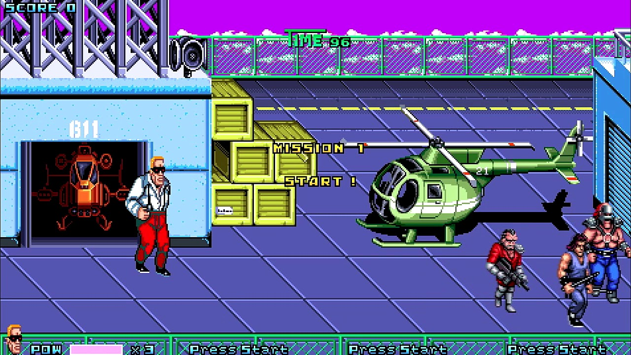 Download OpenBoR games: Double Dragon Gold - Abore playthrough