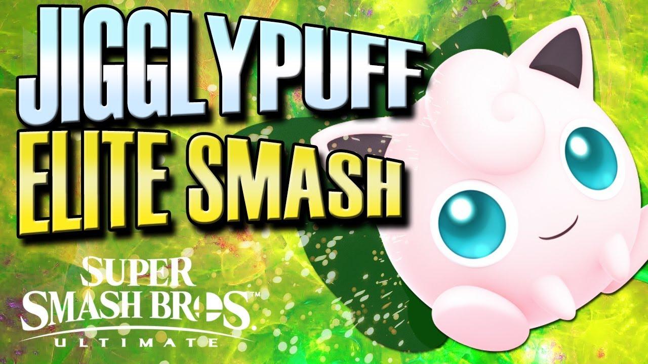 Smash Ultimate Jigglypuff Elite Smash Youtube