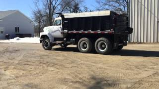 1972 International Fleetstar 2010A Tandem Dump Truck sells Big Iron April 15, 2015 Illinois