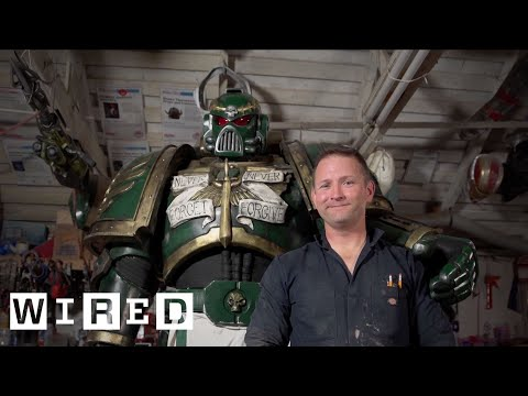 Meet the Man Making Life-Size Movie & Comic Book Costumes | WIRED