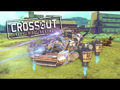 When You Let The Computer Build You A Random Vehicle in Crossout