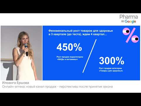 Онлайн аптека новый канал продаж -  перспективы после принятия закона Илоанга Ершова