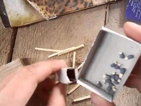 Как сделать бомбочку из спичек фото 404-271