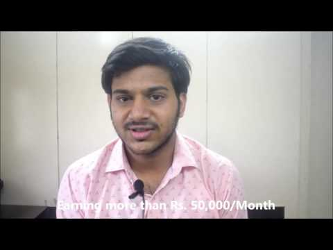 Akshit Aggarwal student The Tourism School Earning above Rs  50,000 Per Month