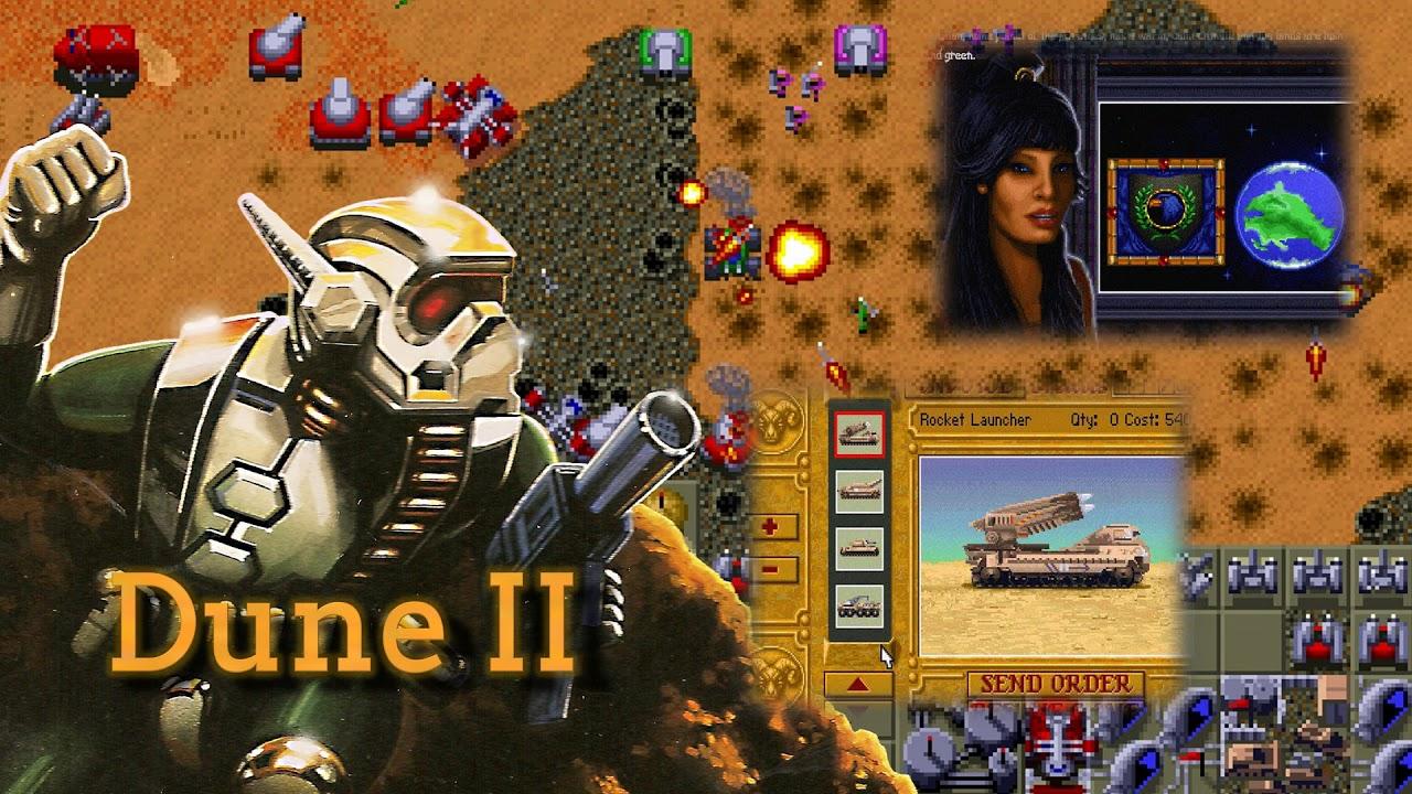 Dune II - Soundtrack - Roland MT-32 - YouTube