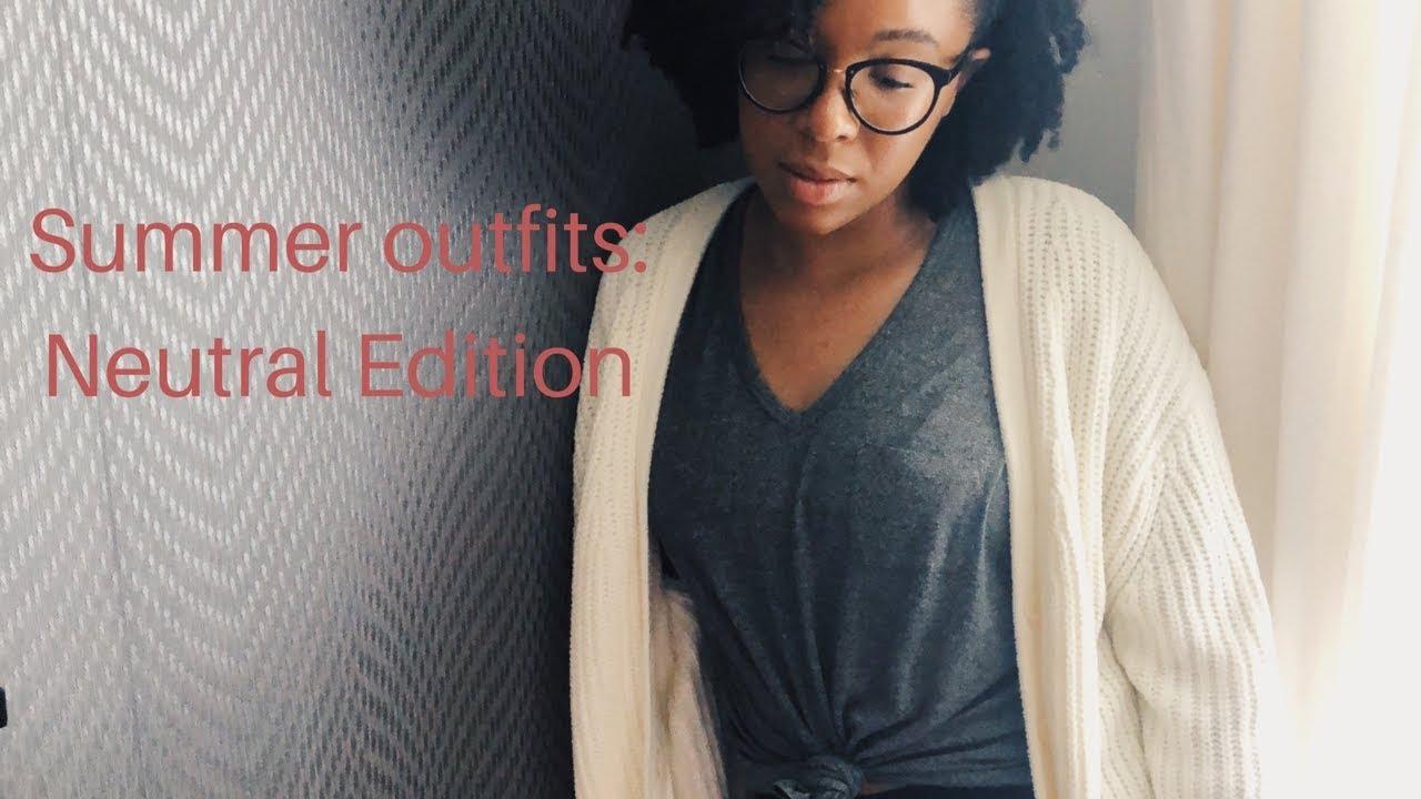 Summer Outfits: Neutral Edition Ft. Aritzia, Mango, H&M