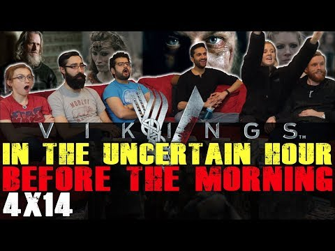 Vikings - 4x14 In the Uncertain Hour Before the Morning - Group Reaction + Skit