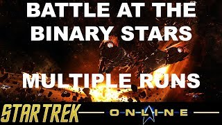 Star Trek Online - Featured TFO Battle at the Binary Stars Multiple Runs - No commentary